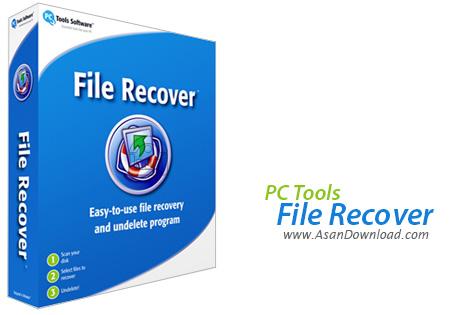 دانلود PC Tools File Recover v9.0.1.221 - نرم افزار بازیابی ساده و آسان فایل ها