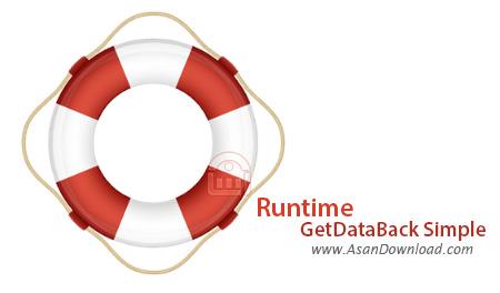 دانلود Runtime GetDataBack Simple v5.50 - نرم افزار بازیابی اطلاعات