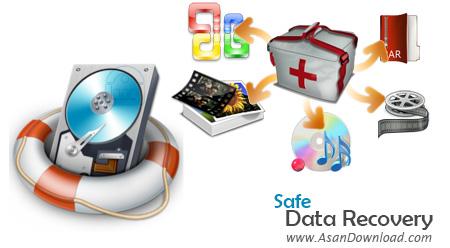 دانلود Safe Data Recovery v2.4 - نرم افزار بازگرداندن اطلاعات حذف شده