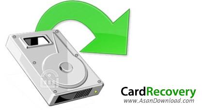 دانلود WinRecovery Software CardRecovery v6.10 Build 121 - نرم افزار بازیابی اطلاعات از حافظه های جانبی
