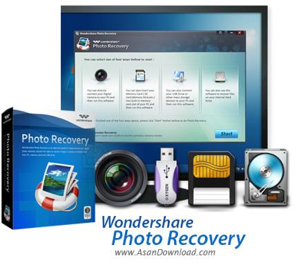 دانلود Wondershare Photo Recovery v8.0.0.6 - نرم افزار بازیابی تصاویر