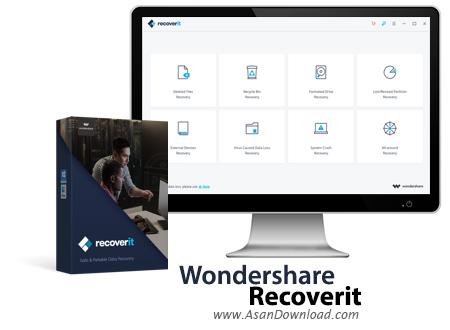 دانلود Wondershare Recoverit Ultimate v8.2.4.3 x64 - نرم افزار بازیابی اطلاعات
