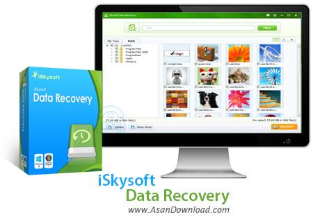 دانلود iSkysoft Data Recovery v4.1.0.7 - نرم افزار بازیابی فایل ها