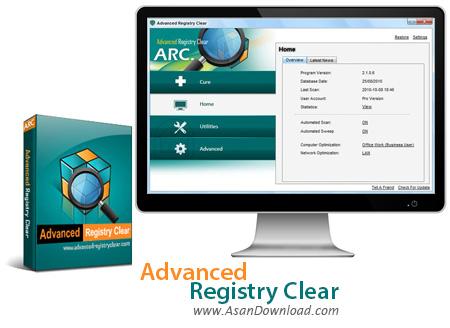 دانلود Advanced Registry Clear v2.3.6.6 - نرم افزار پاک سازی خطاهای رجیستری