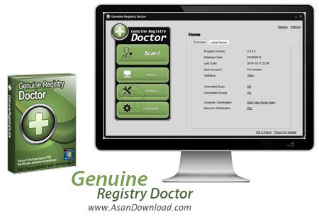 دانلود Genuine Registry Doctor v2.6.6.2 - نرم افزار بهینه سازی رجیستری