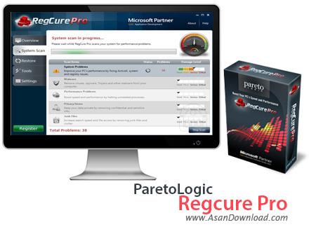 دانلود ParetoLogic Regcure Pro v3.2.16 - نرم افزار تعمیر رجیستری
