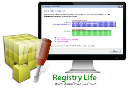 دانلود Registry Life v3.39 - نرم افزار بهینه سازی و پاکسازی رجیستری