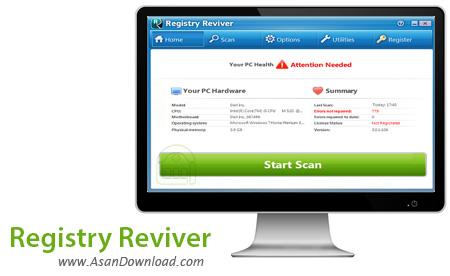 دانلود Registry Reviver v4.13.0.12 - نرم افزار بهینه سازی رجیستری