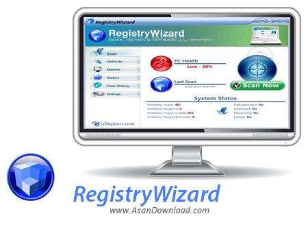 دانلود RegistryWizard v3.1.0.401 - نرم افزار مدیریت کامل رجیستری