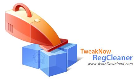 دانلود TweakNow RegCleaner v7.3.1 - نرم افزار بهینه سازی و رفع مشکلات رجیستری