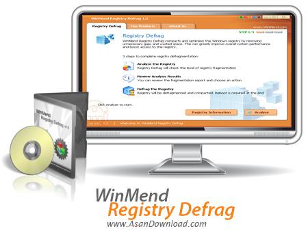 دانلود WinMend Registry Defrag v1.4.9 - نرم افزار یکپارچه سازی رجیستری