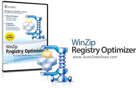 دانلود WinZip Registry Optimizer v4.19.1.4 - نرم افزار بهینه سازی رجیستری ویندوز