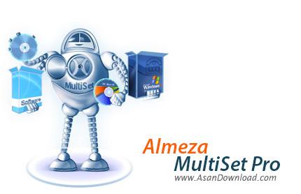 دانلود Almeza MultiSet Professional v8.7.8 - نرم افزار ساخت سی دی های ویندوز با قابلیت نصب خودکار