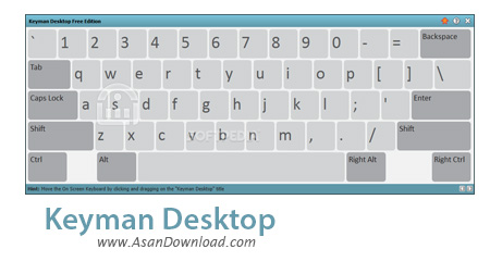 دانلود Keyman Desktop Professional v9.0.476.0 - نرم افزار کیبورد مجازی