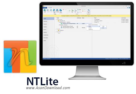 دانلود NTLite 1.0.0 - نرم افزار ساخت ویندوز سفارشی
