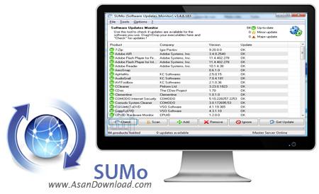 دانلود SUMo v3.11.7.250 - نرم افزار اطلاع از آپدیت نرم افزارها