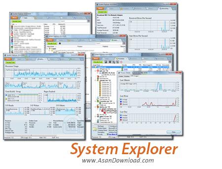 دانلود System Explorer v6.4.2 - نرم افزار نمایش اطلاعات دقیق سیستم
