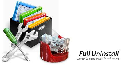 دانلود Full Uninstall v2.12 - نرم افزار پاکسازی کامل نرم افزار های نصب شده
