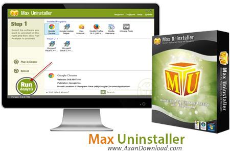دانلود Max Uninstaller v3.8.1.1578 - نرم افزار حذف کامل برنامه های نصب شده