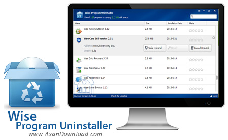 دانلود Wise Program Uninstaller v2.15.114 - نرم افزار حذف سریع برنامه نصب شده