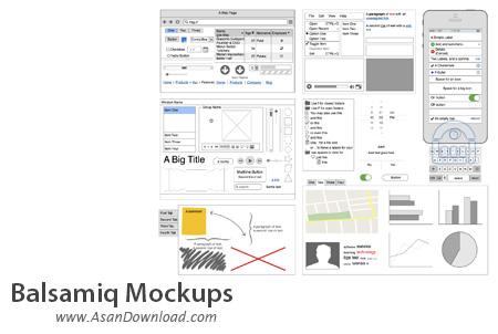دانلود Balsamiq Mockups v3.3.5 - نرم افزار طراحی پيش الگوی فرم های برنامه ساخته شده