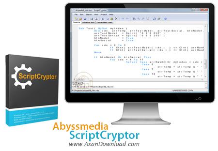 دانلود Abyssmedia ScriptCryptor - نرم افزار رمزنگاری برنامه ها