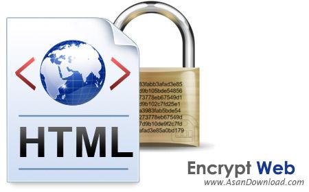 دانلود Encrypt Web Pro v3.1 - نرم افزار رمزگذاری بر روی سورس صفحات وب و HTML
