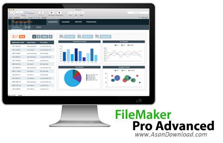 دانلود FileMaker Pro 17 Advanced v17.0.1.143 + v16.0.4.406 Server - نرم افزار مدیریت بانک های اطلاعاتی