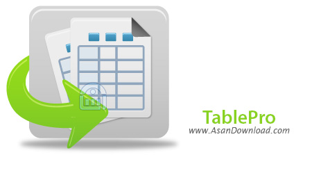 دانلود TablePro 4.0 - نرم افزار ذخیره سازی منظم اطلاعات