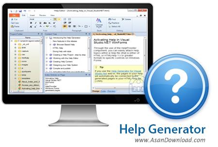 دانلود Help Generator v7.0.1 - نرم افزار تولید فایل های راهنما