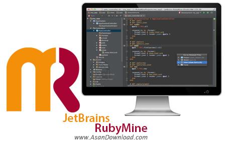 دانلود JetBrains RubyMine v2019.2 - نرم افزار برنامه نویسی به زبان روبی