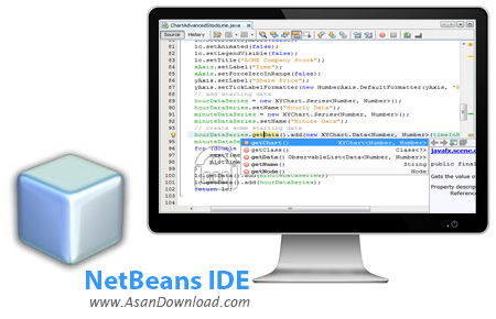 دانلود NetBeans IDE v8.2 + Java SE Development Kit (JDK) 7 Update 80 + 8 Update 144 + v9.0.1 - نرم افزار محیط برنامه نویسی