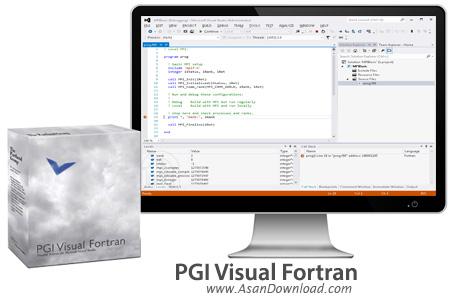 دانلود PGI Visual Fortran v13.8 - نرم افزار برنامه نویسی ویژوال و کامپایلر فرترن