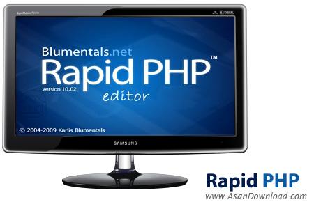 دانلود Blumentals Rapid PHP Editor 2014 v12.3.0.151 - نرم افزار برنامه نویسی PHP