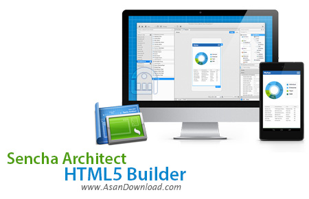 دانلود Sencha Architect HTML5 Builder v3.0.1 - نرم افزار ساخت اپلیکیشن های HTML5