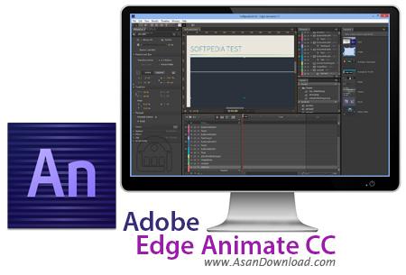 دانلود Adobe Edge Animate CC 2015 v6.0.0.400 x64 - نرم افزار ادوبی ادج انیمت