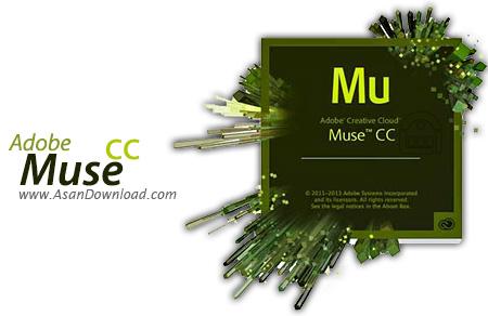 دانلود Adobe Muse CC v2014.0.1.30 - نرم افزار طراحی سایت بدون نیاز به کد نویسی
