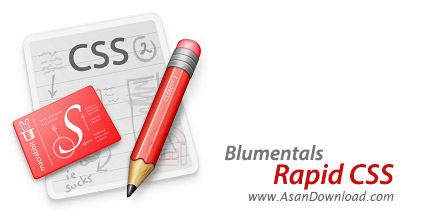 دانلود Blumentals Rapid CSS Editor 2014 v12.3.0.151 - نرم افزار طراحی و کد نویسی CSS