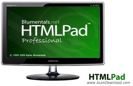 دانلود Blumentals HTMLPad 2014 v12.3.0.151 - نرم افزار طراحی و کد نویسی HTML