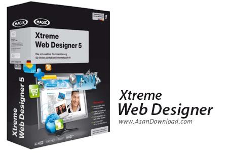 دانلود MAGIX Xtreme Web Designer v5.0.10354 - نرم افزار طراحی وب