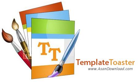 دانلود TemplateToaster Pro v5.0.0.6985 - نرم افزار ساخت تم و قالب وردپرس، جوملا و دروپال
