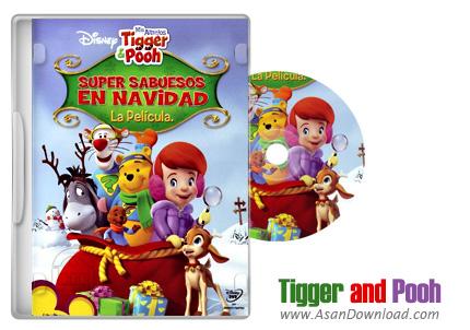 دانلود My Friends Tigger and Pooh Super Sleuth Christmas Movie 2007 - انیمیشن دوبله گلوری معمای سال نوی کارآگاهان زبردست