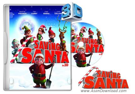 دانلود Saving Santa 2013 - انیمیشن نجات بابانوئل (دوبله فارسی)