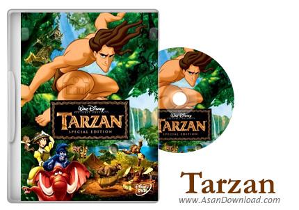 دانلود Tarzan 1999 - انیمیشن دوبله فارسی تارزان
