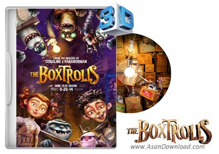 دانلود The Boxtrolls 2014 - انیمیشن عروسک های جعبه ای