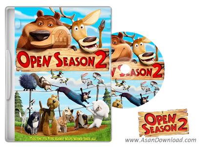 دانلود Open Season 2 2008 - انیمیشن فصل شکار 2 (دوبله فارسی)